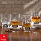 Bormioli Rocco® Personalized Rocks Glass Set of 4 - 10568
