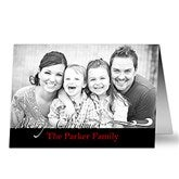 Your Holiday Greeting Photo Christmas Cards  -Horizontal - 10581-H