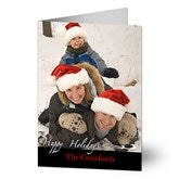 Your Holiday Greeting Photo Christmas Cards  -Vertical - 10581-V