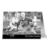 Peace, Love, Joy Photo Christmas Cards- Horizontal - 10586-H