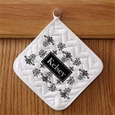 Damask Personalized Potholder - 10612-P