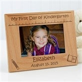 1st Day of School Personalized Picture Frame- 4x6 - 10619