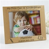 1st Day of School Personalized Frame- 8 x 10 - 10619-L