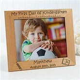 1st Day of School Personalized Frame- 8x10 - 10619-L