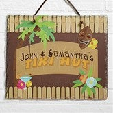 Tropical Paradise© Personalized Slate Plaque - 10621