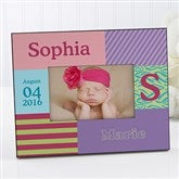 Trendy Girl Personalized Photo Frame - 10648