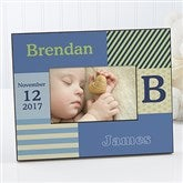 Trendy Guy Personalized Photo Frame - 10649
