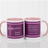 To My Godparents Personalized Coffee Mug 11oz.- Pink - 10669-P