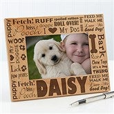 Good Dog! Personalized Picture Frame- 4 x 6 - 10683-S