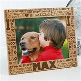 Good Dog! Personalized Picture Frame- 8 x 10 - 10683-L