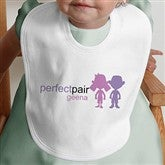 Double Trouble©- Personalized Bib - 10693-B