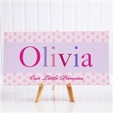 Just For Them Personalized Canvas Print- 5½