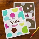 On the Go Personalized Folders - Set of 2 - 10708