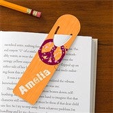 Pretty Peace Personalized Bookmark Set - 10711
