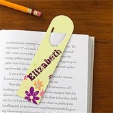 Flower Power Personalized Bookmark Set - 10712