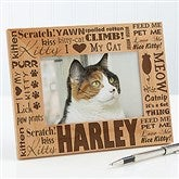 Good Kitty! Personalized Photo Frame- 4 x 6 - 10717-S
