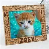 Good Kitty! Personalized Photo Frame- 8 x 10 - 10717-L