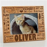 Good Kitty! Personalized Photo Frame- 5 x 7 - 10717-M