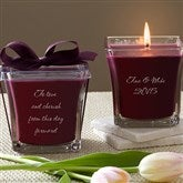 For My Love Scented Spa Candle- Mulberry - 10735-M
