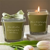 For My Love Scented Spa Candle- Papaya & Bamboo - 10735-P