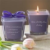 For My Love Scented Spa Candle- Lavender & Linen - 10735-L