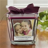 Picture Perfect Personalized Scented Glass Candle- Mulberry - 10736-M