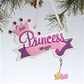 Princess Crown© Personalized Ornament