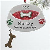 Top Dog© Personalized Ornament