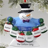 Frosty Family© Ornament- 6 Names - 10762-6