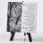 In Memory Personalized Table Canvas Print- 5½ x 5½ - 10785-5x5