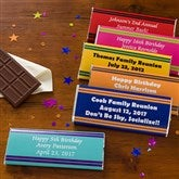 You Name It Personalized Candy Bar Wrappers - 10803