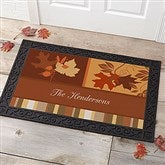 Happy Autumn Personalized Doormat- 20x35 - 10815-M