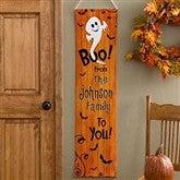 Happy Halloween Personalized Door Banner