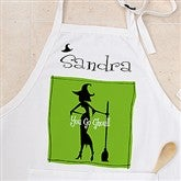 Witch With Attitude Personalized Apron - 10817