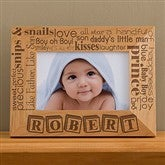 Our Pride and Joy© Personalized 4X6 Frame - Horizontal - 10827-H