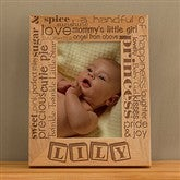 Our Pride and Joy© Personalized 4X6 Frame- Vertical - 10827-V