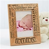 Our Pride and Joy Personalized 4X6 Frame- Vertical - 10827-V