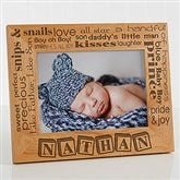 Our Pride and Joy Personalized Frame- 5x7- Horizontal - 10827-MH