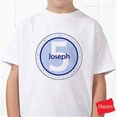 It's Your Birthday! Personalized Hanes® Youth T-Shirt - 10833-YCT