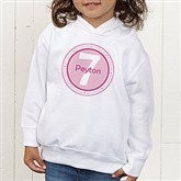 It's Your Birthday! Toddler Hooded Sweatshirt - 10833-CTHS