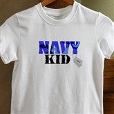 Army and Navy Supporter©White Youth T-Shirt - 10836-YT