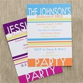 Time To Celebrate Personalized Party Invitations - 10842