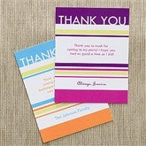 Time To Celebrate Personalized Thank You Cards - 10843