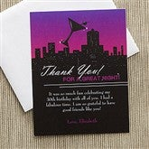Fun In The City Personalized Thank You Cards - 10849