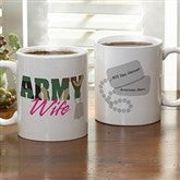 Army and Navy Supporter Personalized Mug- 11 oz. - 10865-S