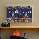 NFL Buffalo Bills Personalized Locker Room Canvas- 12x18 - 10876-S
