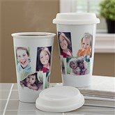 Photo Collage Personalized Reusable Travel Tumbler- 5 Photo - 10878-5