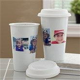 Photo Collage Personalized Reusable Travel Tumbler- 3 Photo - 10878-3