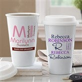 Personally Yours Personalized Reusable Travel Tumbler - 10879