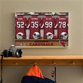 NFL Arizona Cardinals Personalized Locker Room Canvas - 12x18 - 10889-S